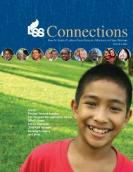2009 Connections Issue 1 - Lutheran Social Services of Wisconsin ...