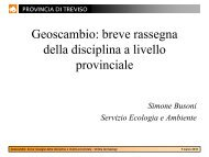 Geoscambio – Busoni - Ordine dei Geologi Regione del Veneto