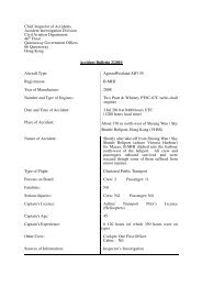 Accident Bulletin 2/2010 - Preliminary Report on Augusta Westland ...