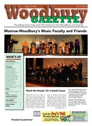 to view the March 1st issue. - Woodbury Gazette