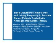Sleep Disturbance, Hot Flashes, and Urinary Frequency in Prostate ...