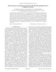 Effect of pressure on the Raman anomaly of zinc-blende CuBr and ...