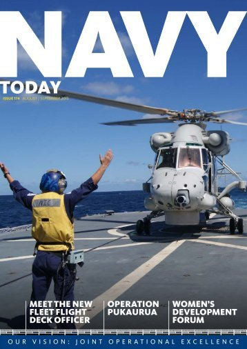 Aug-Sep 2013, Issue 174 - Royal New Zealand Navy