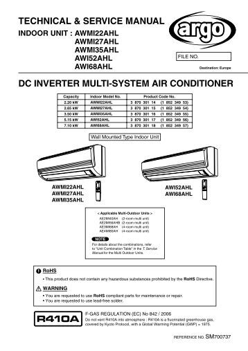 Technical Amp Service Manual Dc Inverter Panasonic