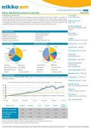 Nikko AM Shenton Income Fund (S$) - OCBC Bank