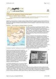 Genèse de l'apartheid - CRAN