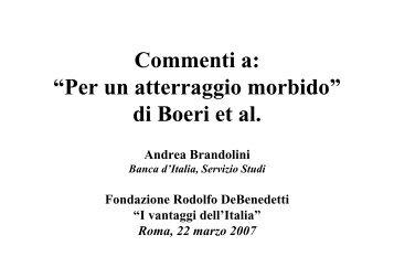 Andrea Brandolini - Fondazione Rodolfo DeBenedetti
