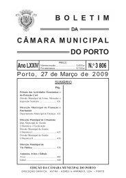 boletim 3806 - Câmara Municipal do Porto