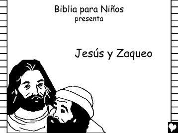 Jesus and Zaccheus Spanish CB.pdf - Bible for Children