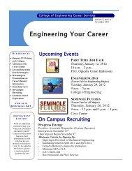 November 2011 - The Career Center