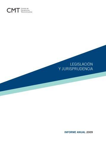 LEGISLACIÓN Y JURISPRUDENCIA - Informe económico sectorial