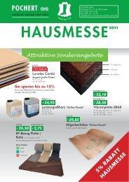Flyer Hausmesse 2011 - Pochert OHG