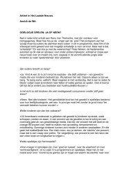 Artikel in Het Laatste Nieuws. Annick de Wit ... - swphost.com