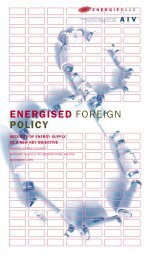 ENERGISED FOREIGN POLICY