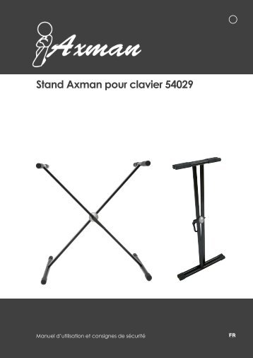 Stand Axman pour clavier 54029