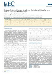 Schinopsis lorentzii Extract As a Green Corrosion Inhibitor for Low ...