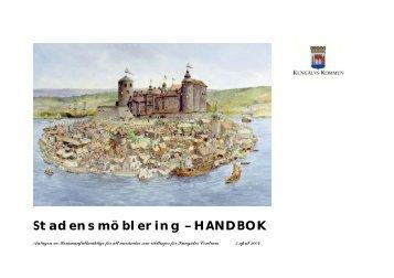 Länk till Stadens möblering - handbok - Kungälv