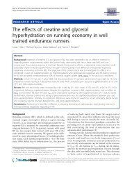 The effects of creatine and glycerol hyperhydration - Journal of the ...