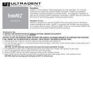 EndoREZ - Ultradent Products, Inc.