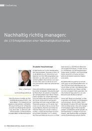 Nachhaltig richtig managen - Signumforte.de
