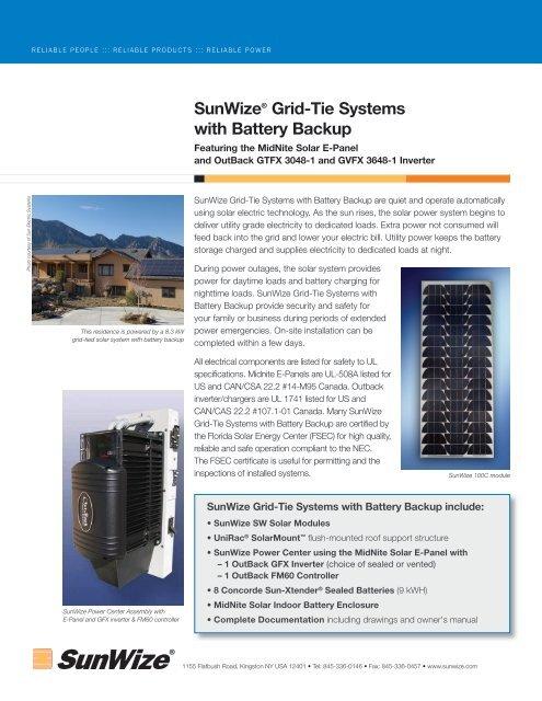 Download PDF - SunWize Technologies, Inc