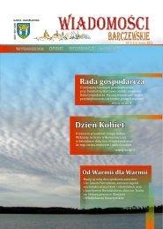 marzec 2011 Z inicjatywy lokalnych przedsiębiorców - Wiadomości ...