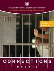 Corrections Update