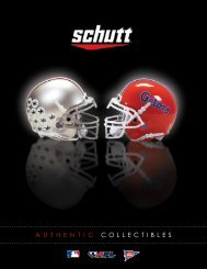 COLLECTIBLES NEW PRODUCTS - Schutt Sports