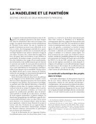 la madeleine et le panthéon - Annales de la Recherche Urbaine