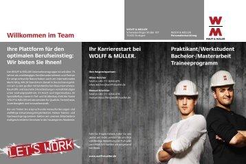 Praktikant/Werkstudent - Wolff & Müller
