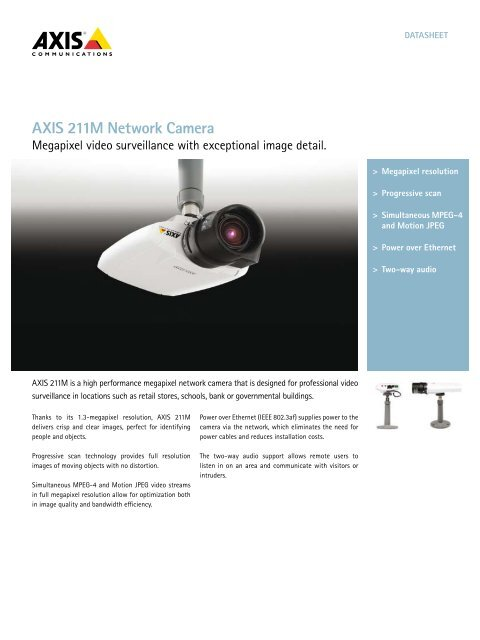 AXIS 211M CAMERA DRIVERS PC