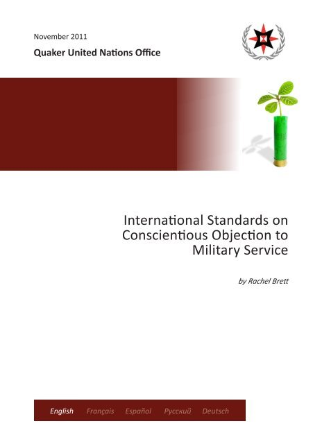 International Standards on Conscientious Objection to Military Service