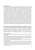International Standards on Conscientious Objection to Military Service - Page 3