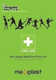 FIRST AID - IDM Sports
