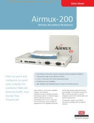 Airmux-200 - CB Networks