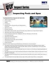 Pools and Spas - NAHI