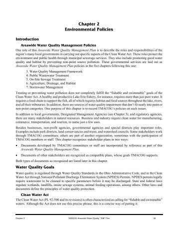 Environmental Policies - Toledo Metropolitan Area Council of ...