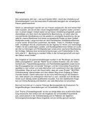 Vorwort - pro familia Reutlingen
