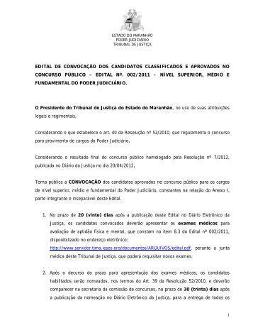 Veja a lista dos convocados - SuaCidade.com