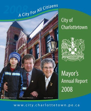 Annual Report 2008 - City of Charlottetown