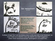 Der Holzschnitt - Paula Fürst Schule