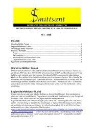 Innehåll Utbrott av MRSA i Torneå Legionellainfektioner i Luleå