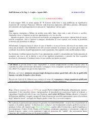 Dall'Edizione n.74, Pag. 2 – Luglio – Agosto 2005. - Potere Civico