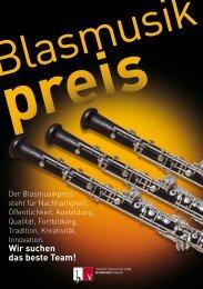 Blasmusikpreis - Oberösterreichischer Blasmusikverband