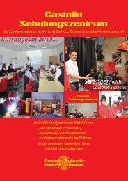 Schulungszentrum Broschüre 2013.indd - Castolin Eutectic