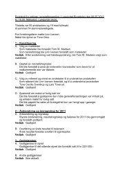 Protokoll fra ordinær generalforsamling i Lysejordet ... - Herborvi.no