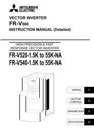 FR-V500-NA INSTRUCTION MANUAL (Detailed) - MRO Stop