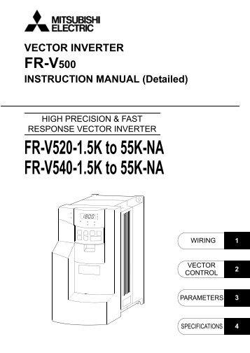 dowload the mitsubishi a500 vfd manual mro stop rh yumpu com Wildgame Innovations Manuals User Manual PDF