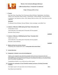 Minutes and Action Sheet 15 February 2013 - LGMA (SA)