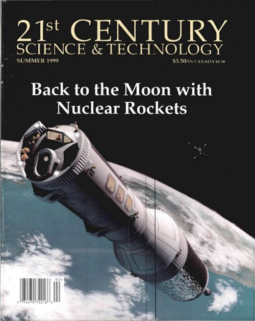 Back to the Moon with Nuclear Rockets